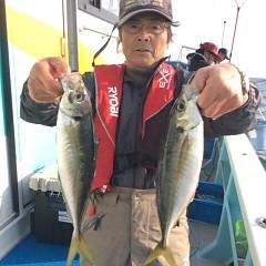 4月10日(火)  午前便・フグ釣り・午後便・アジ釣りの写真その7