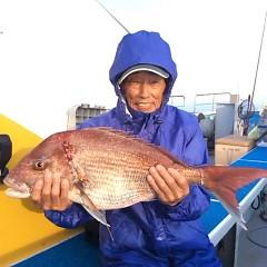 4月23日(月)  午前便・アジ釣り・午後便・ウタセ真鯛の写真その1