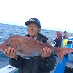 4月23日(月)  午前便・アジ釣り・午後便・ウタセ真鯛の写真その2