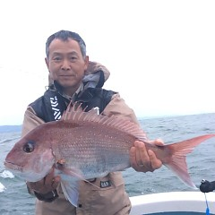 5月6日(日)午前便・アジ釣り 午後便・ウタセ真鯛の写真その4