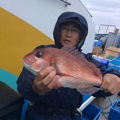 5月6日(日)午前便・アジ釣り 午後便・ウタセ真鯛の写真その6