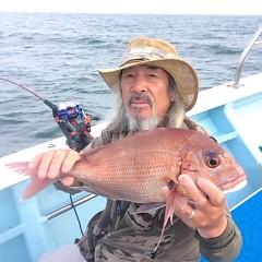 5月18日(金)午前便・アジ釣り・午後便・ウタセ真鯛の写真その4