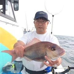 5月18日(金)午前便・アジ釣り・午後便・ウタセ真鯛の写真その6