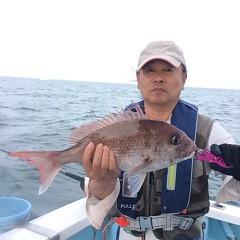5月18日(金)午前便・アジ釣り・午後便・ウタセ真鯛の写真その7