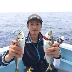 5月25日(金)午前便・アジ釣り午後便・ウタセ真鯛の写真その1