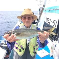 5月25日(金)午前便・アジ釣り午後便・ウタセ真鯛の写真その2