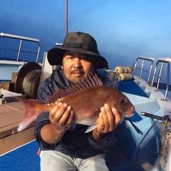 5月25日(金)午前便・アジ釣り午後便・ウタセ真鯛の写真その8