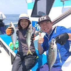 5月27日 午前便・アジ釣りの写真その1