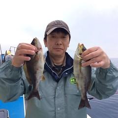 5月31日(木)午後便・イサキ釣りの写真その1