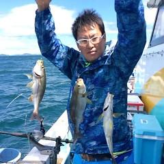 6月12日(火)午前・午後便・イサキ釣りの写真その1
