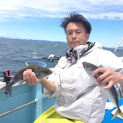 6月13日(水)午前便・イサキ釣りの写真その1