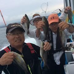 6月14日(木)午後便・イサキ釣りの写真その1