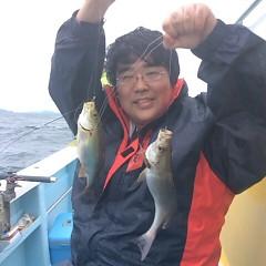 6月16日(土)午前・午後便・イサキ釣りの写真その1