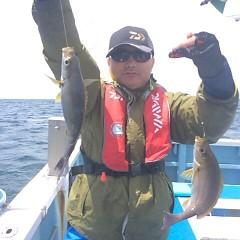 6月17日(日)午前便・イサキ釣りの写真その2