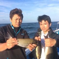 6月17日(日)午後便・イサキ釣りの写真その1
