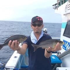 6月29日(金)午前便・午後便・イサキ釣りの写真その1
