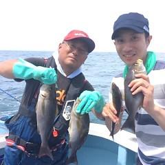 6月230(土)午前便・午後便・イサキ釣りの写真その1