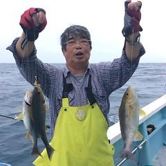 7月6日(金)午後便・イサキ釣りの写真その1