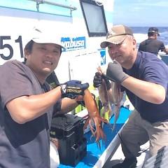 7月8日(日)スルメイカ釣り1日便の写真その2