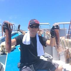 7月10日(火)午前便・スルメイカ釣りの写真その1