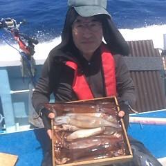 7月10日(火)午前便・スルメイカ釣りの写真その3
