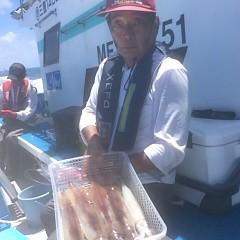 7月10日(火)午前便・スルメイカ釣りの写真その5