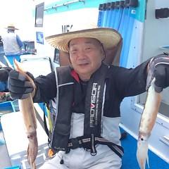 7月12日(木)1日便・スルメイカ釣りの写真その4