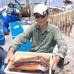 7月12日(木)1日便・スルメイカ釣りの写真その5