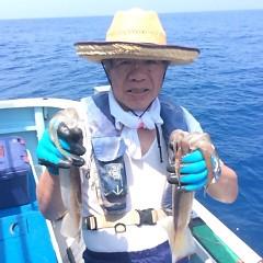 7月18(水)1日便・スルメイカ釣りの写真その2