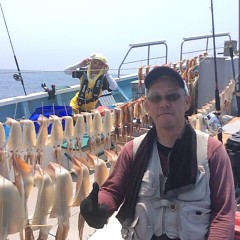 7月18(水)1日便・スルメイカ釣りの写真その4