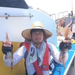 7月18(水)1日便・スルメイカ釣りの写真その5