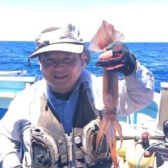 7月21(土)1日便・スルメイカ釣りの写真その1