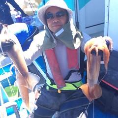 7月21(土)1日便・スルメイカ釣りの写真その2