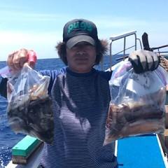 7月22(日)1日便・スルメイカ釣りの写真その1