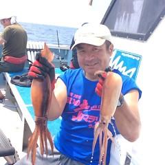8月4日(土)1日便・スルメイカ釣りの写真その2