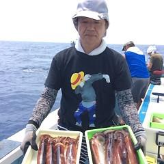 8月4日(土)1日便・スルメイカ釣りの写真その3