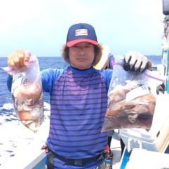 8月4日(土)1日便・スルメイカ釣りの写真その5