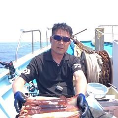 8月5日(日)1日便・スルメイカ釣りの写真その1