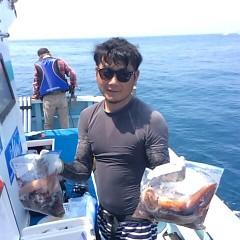 8月5日(日)1日便・スルメイカ釣りの写真その2