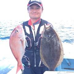 8月9日(木)9時出船・タテ釣りの写真その1