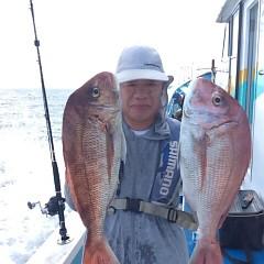 8月9日(木)9時出船・タテ釣りの写真その2