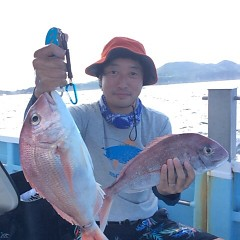 8月9日(木)9時出船・タテ釣りの写真その3