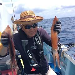 8月 11日(金) 1日便・スルメイカ釣りの写真その1