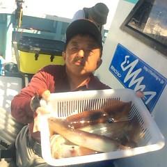 8月 13日(月) 1日便・スルメイカ釣りの写真その1
