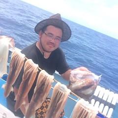 8月 14日(火) 1日便・スルメイカ釣りの写真その3