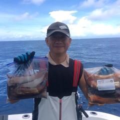 8月 14日(火) 1日便・スルメイカ釣りの写真その4