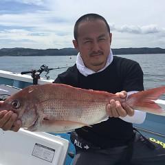 9月2日(日) 午前便・タテ釣りの写真その1