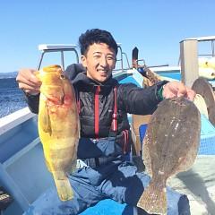 10月 21日(日) 午前便・ヒラメ釣りの写真その1
