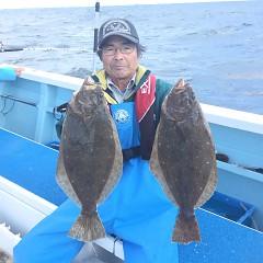 10月 22日(月) 午前便・ヒラメ釣りの写真その2