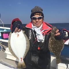 10月 29日(月) 午前便・ヒラメ釣りの写真その1